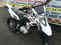 2014 Yamaha wr 125 cc super Moto one owner from new outstanding condition
