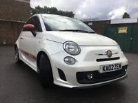 Abarth 500 1.4 T-Jet 3dr Bluetooth, USB, Leather, Sport Mode
