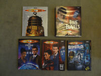 Doctor Who Books (Five) in excellent condition - Includes kits to make 5 things