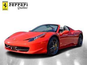 2013 Ferrari 458 ITALIA 458 Spider F1