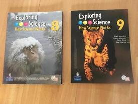 Exploring Science textbooks (Excellent Condition)