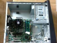 Intel Core 2 Quad core CPU BARE BONES PC. Please read description for more info