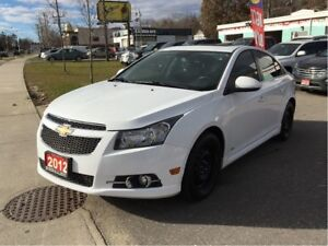 2012 Chevrolet Cruze RS Turbo Sunroof Manual