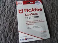 McAfee LiveSafe Premium - all devices
