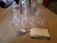 9x plastic sweet jars