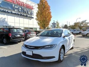 2016 Chrysler 200 LX 5 Passenger Front Wheel Drive, 2.4L Gas