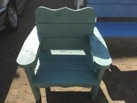 New single seater seat made from heavy duty timber last for years