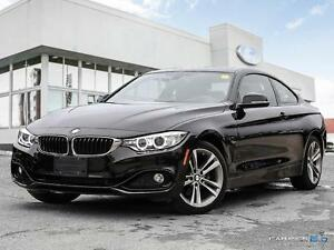 2014 BMW 428 $297 B/W, 428i xDrive, ROOF, AWD