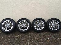 Audi Q5 genuine alloys 18inch with winter tyres