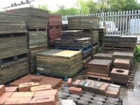 "Good quality 3 x 2 - 2 x 2 - 18"" X 18"" concrete paving"