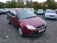 FORD C-MAX GHIA 2.0L DIESEL 5DR 2004 LOW MILEAGE LONG MOT FULL SERVICE HISTORY EXCELLENT CONDITION