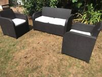 Rattan garden patio or conservatory furniture