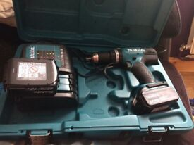 New makita drill used once