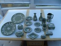 Wedgwood collection as seen.