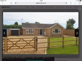 Detached bungalow fully refurbished