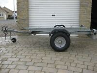 Trelgo Single Bike Motorcycle Trailer.