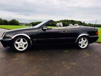 Mercedes CLK 320 Cabrio - bmw 330i audi a4 vw golf passat z4 mazda mx5 cherished boxster ford honda