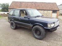 Range rover p38 2.5td 4x4 offroad