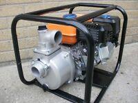 "Brand New 4-Stroke 2"" Petrol water pump. 163cc 5.5HP"
