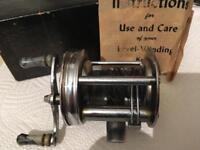 Vintage American bait caster fishing reel