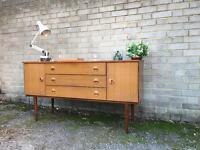 VINTAGE SIDEBOARD FREE DELIVERY CHEST 🇬🇧