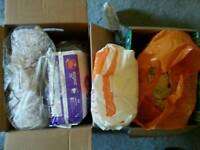 Huge bundle of nappies size 5 + and 5