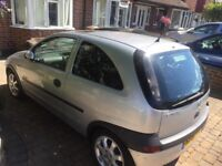 Silver Vauxhall corsa 1000cc , 3dr 51 plate , 80,000 miles genuine , 6 months mot