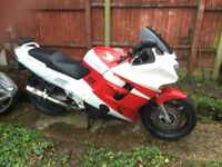 Honda CBR 1000 F Reluctant sale. Runs and rides well scruffy cosmetics MOT until June