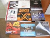 audio books 9 sets, over 50 cds