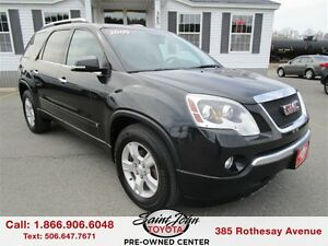 2009 GMC Acadia SLT with Leather
