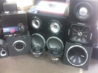 Subwoofer and Installation Service Upgrade Your Motor with the Bass your missing From £149.99