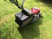 Honda propelled rotary mower