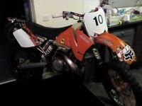 Swaps KTM 250 2 stroke