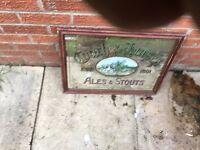Antique pub mirror for sale