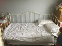 As new super king size day bed with mattress