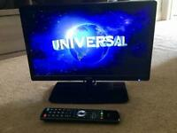 "19"" Logik TV with built in DVD Player"