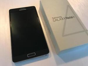 Samsung Galaxy Note 4 32GB Black SmartPhone - UNLOCKED W/FREEDOM - 10/10 - Guaranteed Activation + No Blacklist