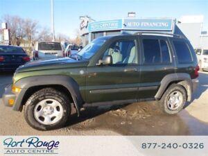 2007 Jeep Liberty Sport 4X4 - LOW KMS