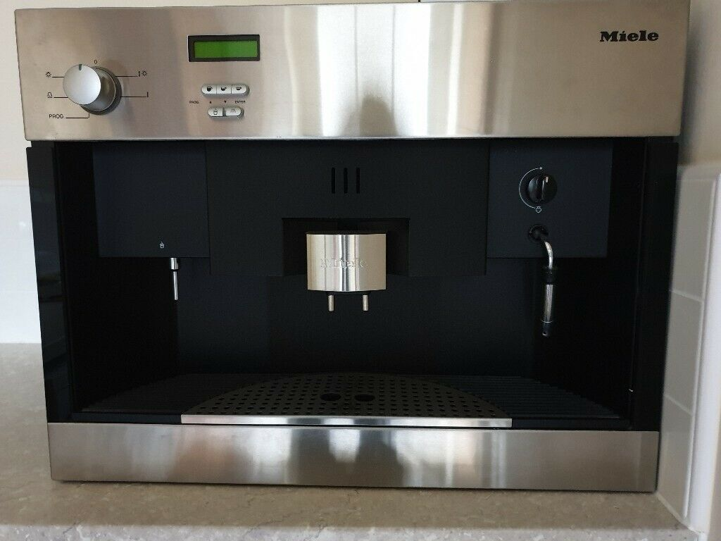 Miele Integrated Coffee Machine In Leicester Leicestershire Gumtree