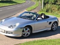 Porsche Boxster with full body kit