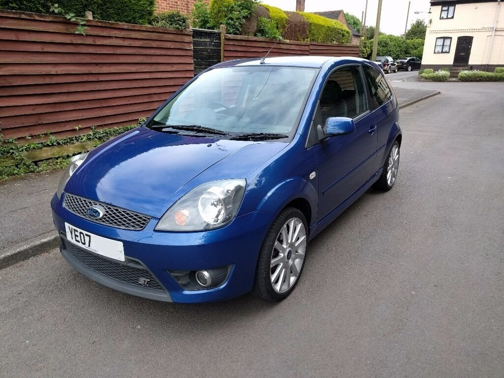 ford fiesta st 2 0 mk6 performance blue in atherstone warwickshire gumtree. Black Bedroom Furniture Sets. Home Design Ideas