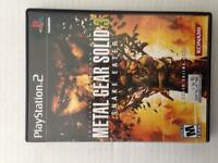 Metal Gear solid 3 snake eater for ps2