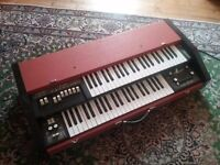 Crb combo organ (similar to farfisa)