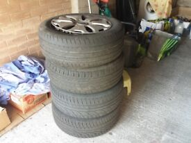 Ford wheels with good tyres 215/55/16