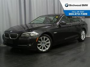 2013 BMW 5 Series 528i xDrive Premium & Advanced Safety Package!