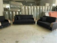 🤘🏻💓2020 FACTORY SALE TURKISH DESIGN FABRIC STORAGE SOFA BEDS SETTEE BLACK BROWN GREY SOFABED