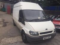 FORD TRANSIT, BRILLIANT CONDITION, 1 OWNER FROM NEW.FULL SERVICE HISTORY.FREE WARRANTY. NO VAT.