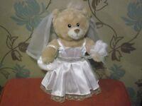 Build A Bear Teddy With 3 Dresses