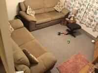 3seater and 2 seater bed settee excellent condition