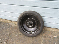 space saver wheel for a citroen c4 never been used 4 studs , size 115x70-16